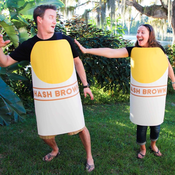 Hashtag halloween costume