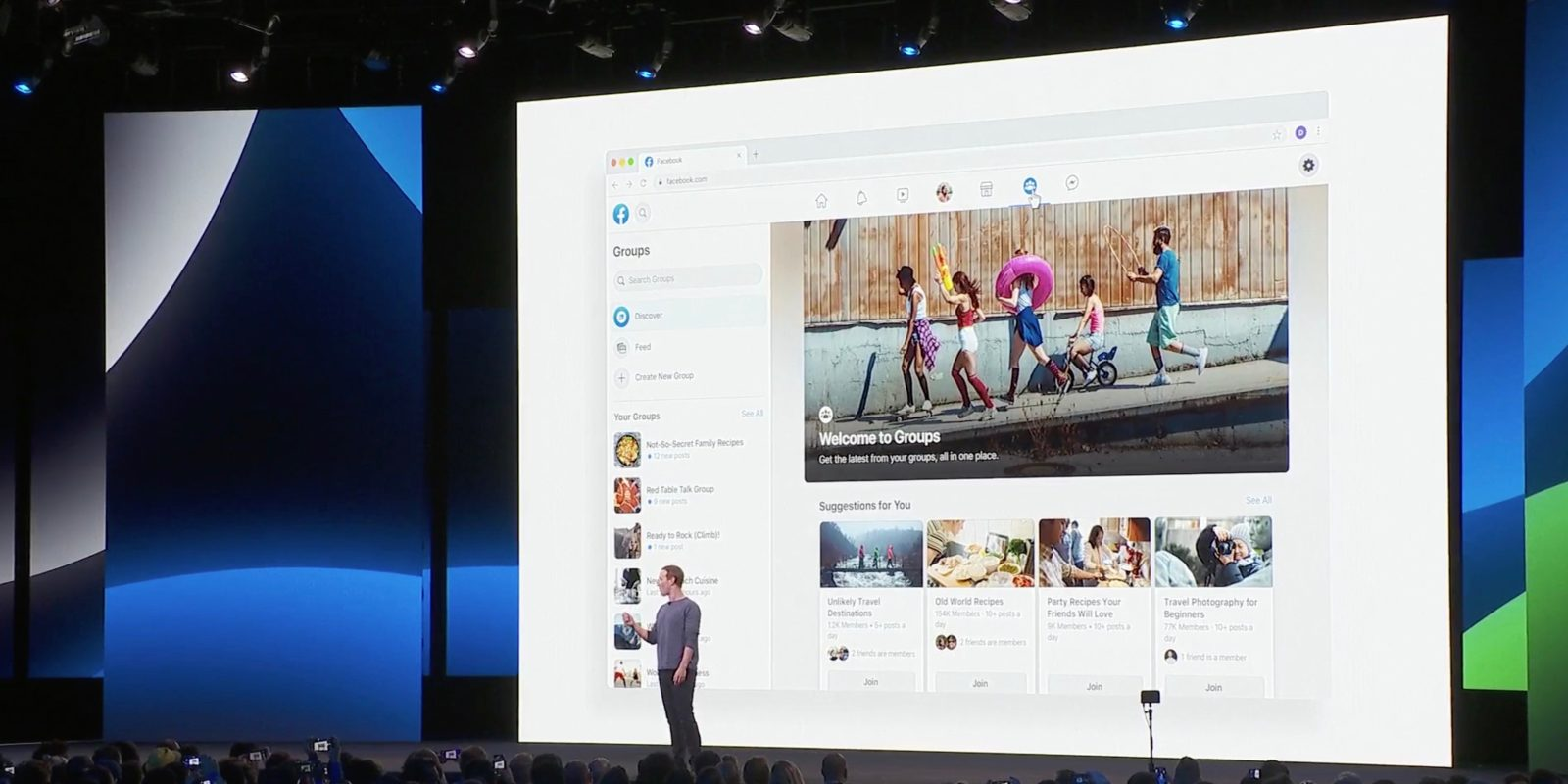How Facebook's New Focus on Groups Could Change Your Marketing - Mark Zuckerburg f8 2019