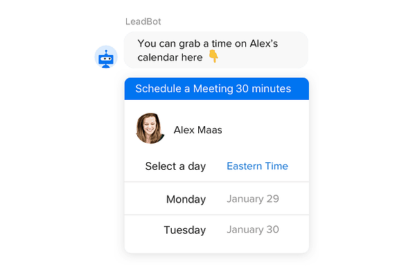 Automatically book meetings for your sales team