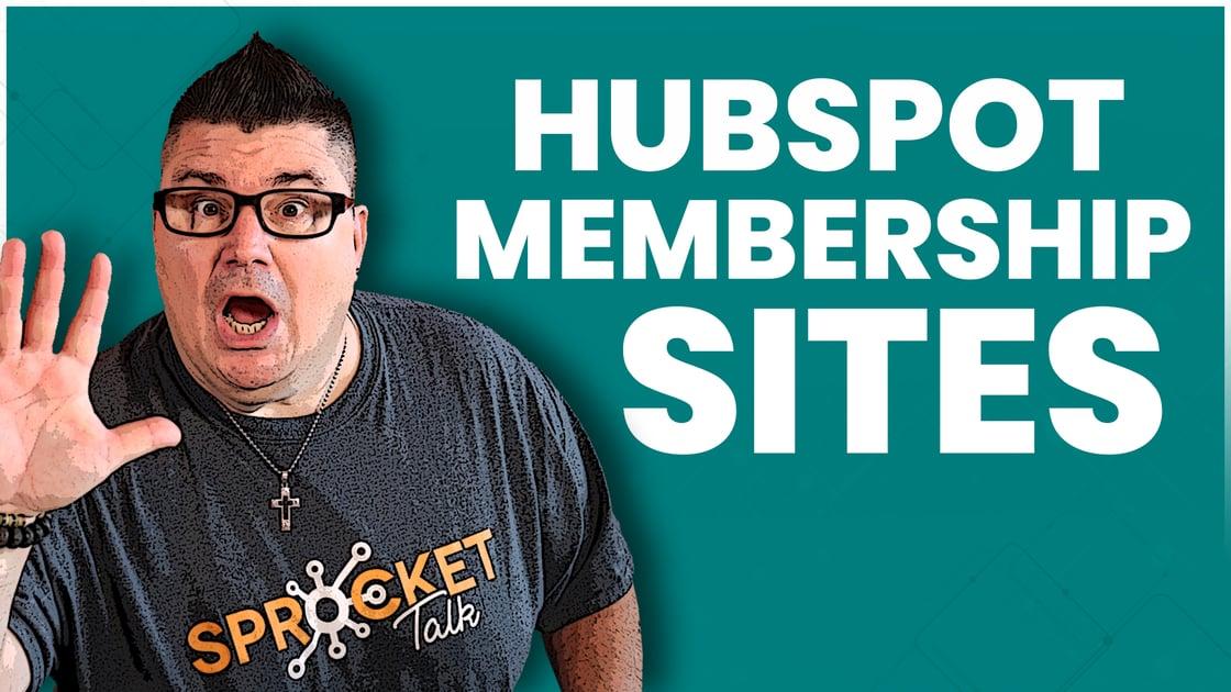 Tutorial - HubSpot Membership Sites