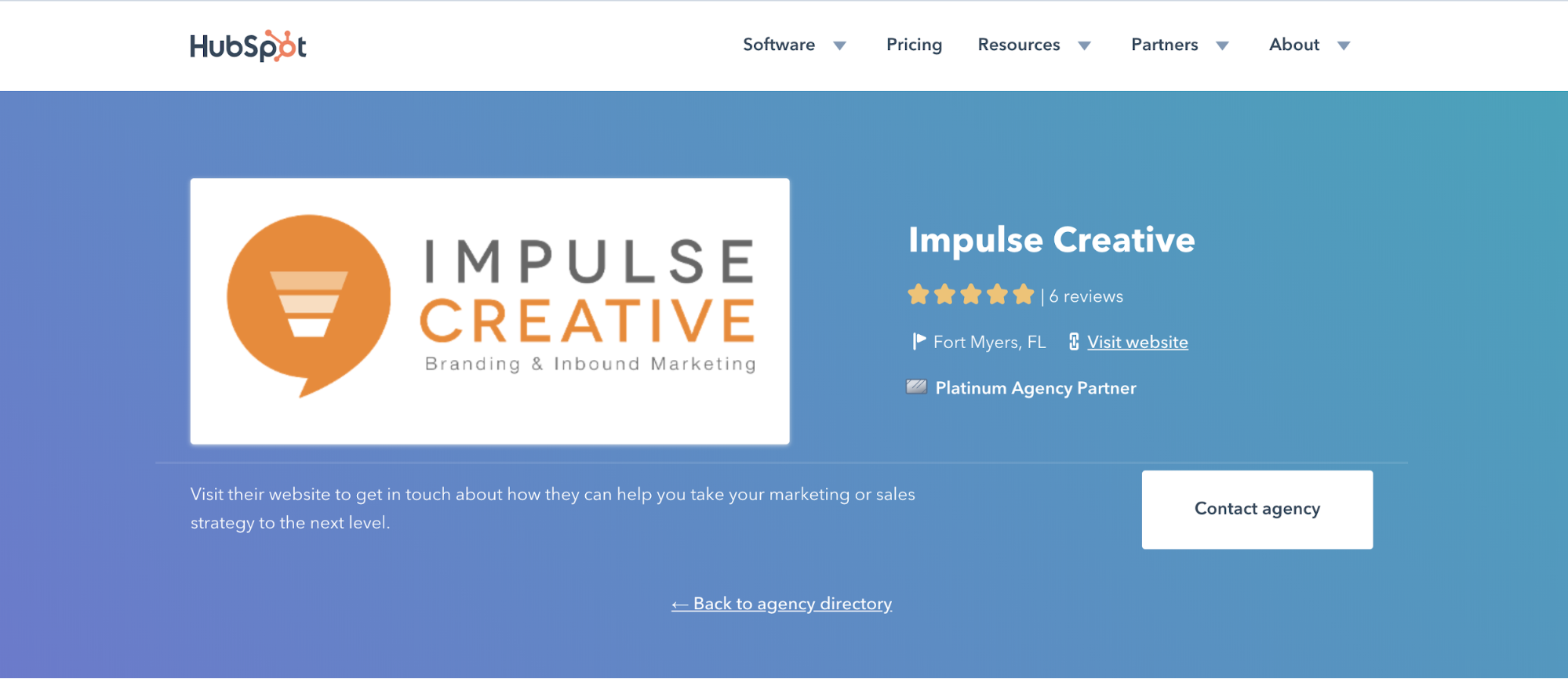 HubSpot partner listing for Impulse Creative on Citation Building Still Matters for Local SEO and We Have Proof